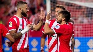 El Girona espera celebrar goles en el primer partido de Liga
