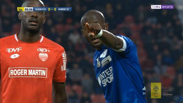 Incidente racista durante el Dijon-Amiens