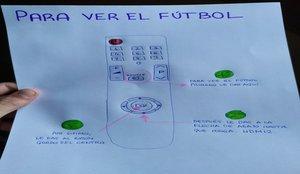 Un joven, su abuelo y La Liga protagonizan una preciosa historia de fútbol