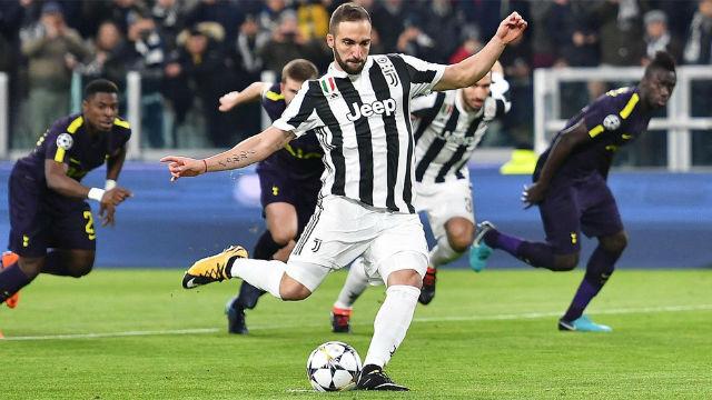 LACHAMPIONS | Juventus - Tottenham (2-2): Higuaín falló un penalti ante el Tottenham