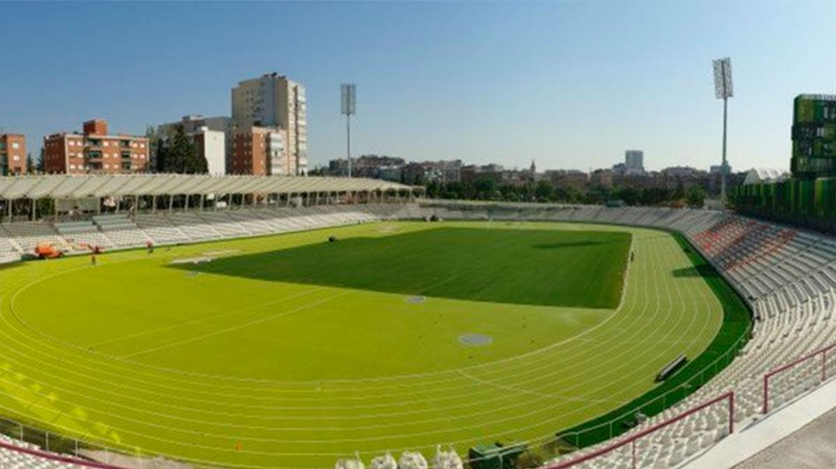 Las pistas del madrileño estadio Vallehermoso reabren para atletas federados y amateurs