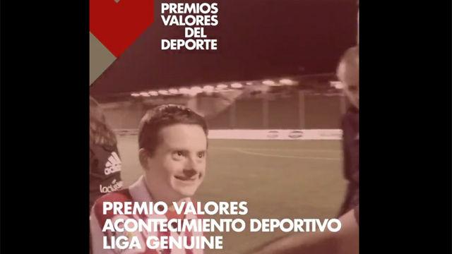 La Liga Genuine, Premio Valoares al Acontecimiento de SPORT