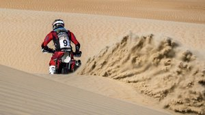 Los pilotos de Honda han brillado en las dunas de Liwa