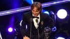 Luka Modric recibió el premio The Best de la FIFA