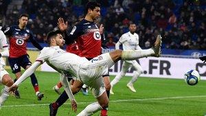 El Lyon cayó frente al Lille