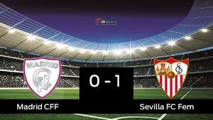 El Madrid CFF pierde 0-1 frente al Sevilla