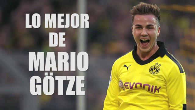 Lo mejor de Mario Götze, el héroe olvidado de Alemania
