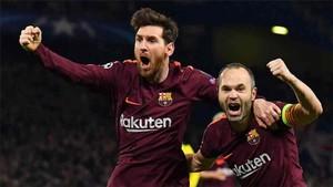 Messi y Andrés Iniesta, una pareja de récord
