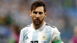Messi es la capitán de la selección argentina