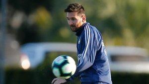 Messi está concentrado con Argentina para la Copa América