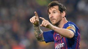 Messi ya está en condiciones de volver a liderar el ataque azulgrana