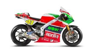 Moto del Aprilia Racing Team