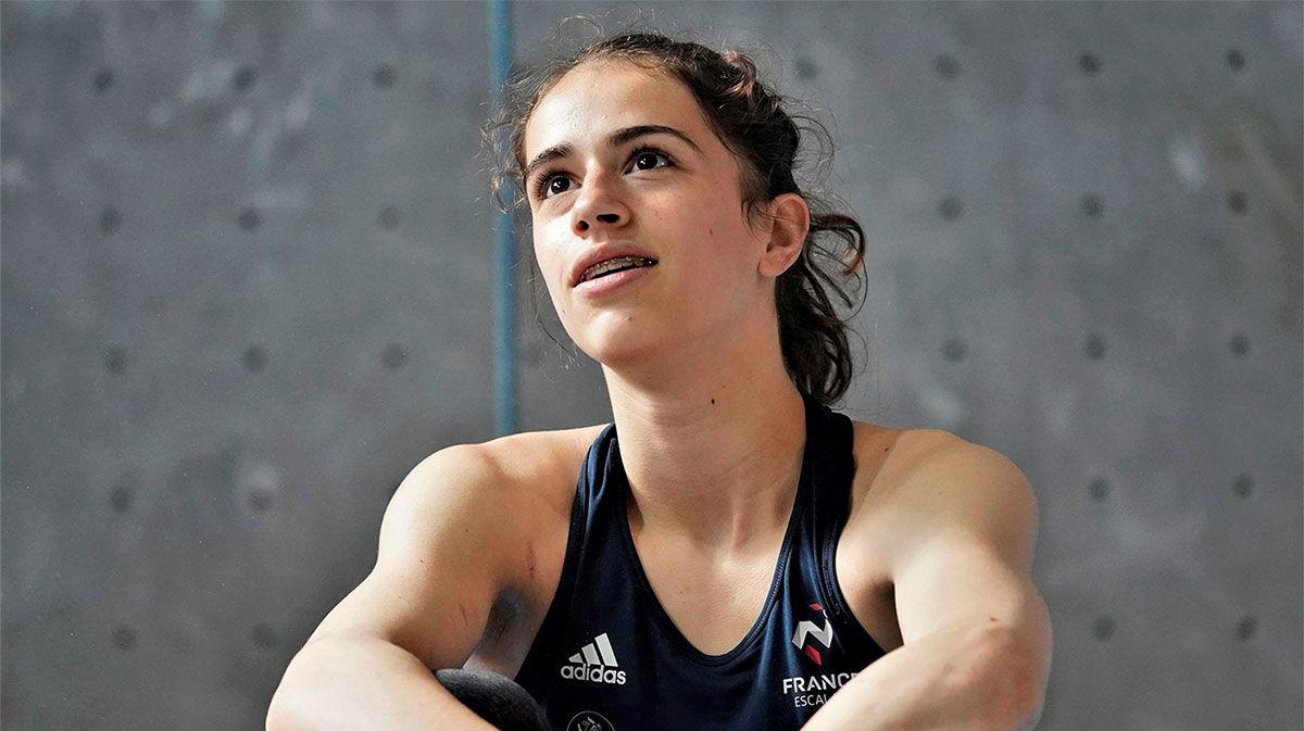 Muere Luce Douady, de 16 años, campeona mundial juvenil de escalada