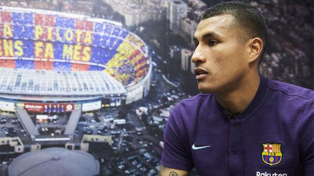Murillo: Me quedé en shock cuando me llamó el Barça porque es el sueño de mi vida
