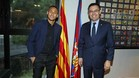 Neymar renovó su contrato con el Barça
