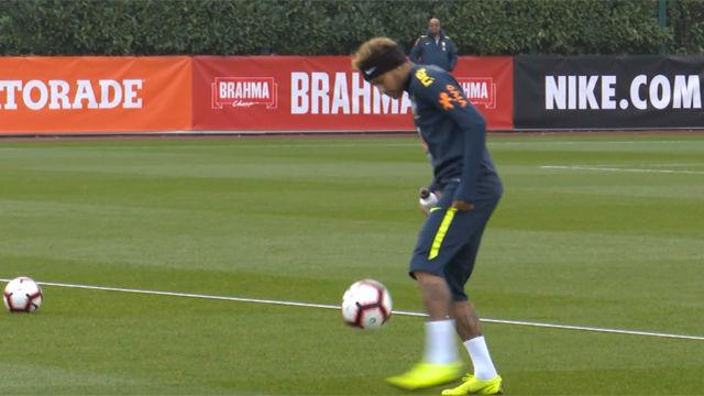 Neymar no tuvo su día... ¡Vaya control!