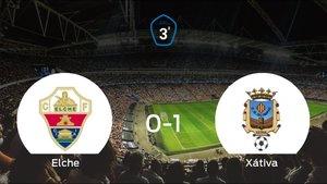 El Olimpic Xátiva se impone al Elche Ilicitano y consigue los tres puntos (0-1)