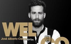 El PAOK dio la bienvenida a Cañas