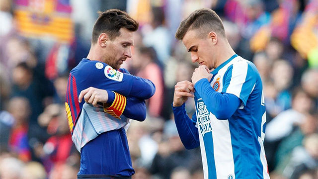 Pedrosa anotó el primer tanto del Espanyol - Alavés