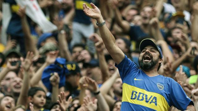 ¡Piel de gallina! Así rugió Buenos Aires con los goles de Boca y River en la ida de la final