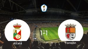 El RSD Alcalá y la AD Torrejón CF se reparten los puntos tras su empate a uno