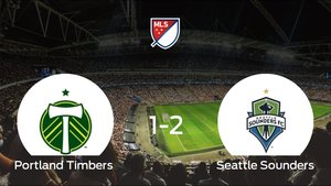 El Seattle Sounders vence 1-2 en el feudo del Portland Timbers