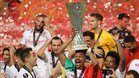 El Sevilla vuelve tras conquistar la Europa League