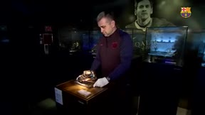 La sexta Bota de Oro de Messi ya está en el Museo del Barça