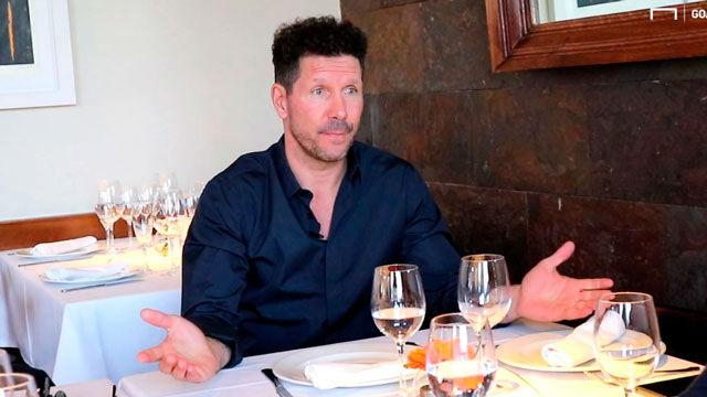 Simeone: La crítica no es justa con Messi