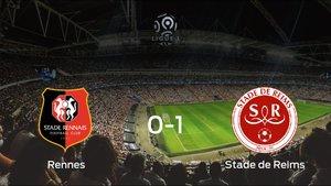 El Stade de Reims se lleva los tres puntos frente al Stade Rennes (0-1)