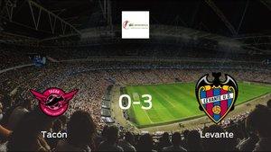 Tres puntos para el casillero del Levante Femenino tras golear al CD Tacón (0-3)