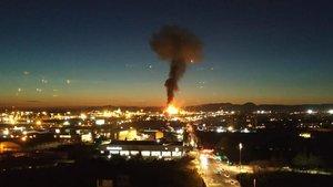 Una víctima mortal en la terrible explosión de la planta de Tarragona