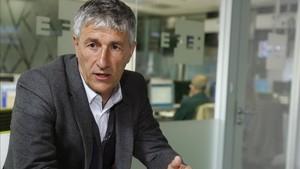 En Valencia dan por hecho que Quique Setién será el nuevo entrenador