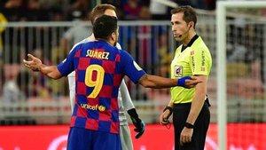 El VAR anuló dos goles al Barcelona en la semifinal de la Supercopa de España