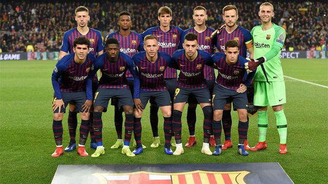 Vea las calificaciones del Barça ante el Tottenham