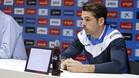Víctor Sánchez no duda de la continuidad del entrenador