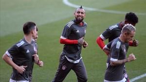Vidal, feliz ante su inminente fichaje por el Barça