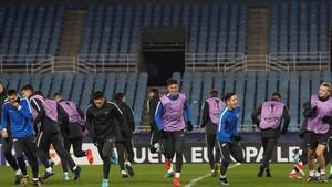 El Zenit preparó en Anoeta su duelo contra la Real Sociedad