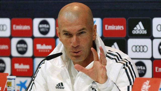 Zidane se enfrenta a la prensa