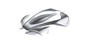 Única imagen disponible del Aston Martin 003.