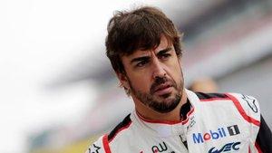 Alonso se mostró optimista en Fuji