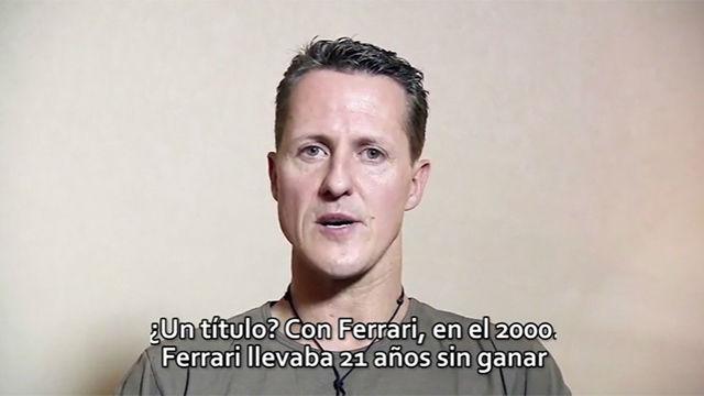 La entrevista inédita a Michael Schumacher antes del accidente