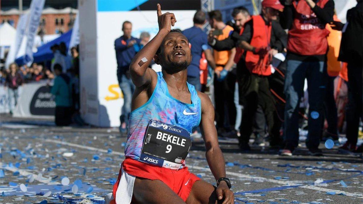 Bekele bate el récord de la maratón de Barcelona 0a83026a59965
