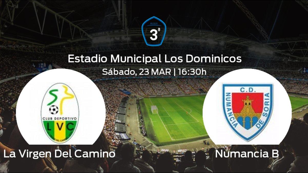 2e7d1d8404ab1 Previa del partido  La Virgen Del Camino recibe en el Estadio Municipal Los  Dominicos al Numancia B