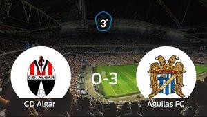 El Águilas golea 0-3 en el Campo Municipal Sanchez Luengo al Algar