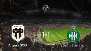 El Angers SCO y el Saint Etienne consiguen un punto tras empatar a 1 en su último partido