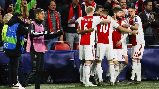 Así fue la lección del Ajax a la Juventus... pese a que acabó en empate