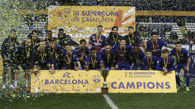 Barça 0 (4) - Espanyol 2 (2): El Barça se lleva la Supercopa de Catalunya en los penaltis
