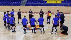El Barça ha retomado el contacto con el Palau tras las vacaciones