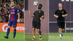 El Barcelona busca soluciones a Alcácer, Turan y Vermaelen